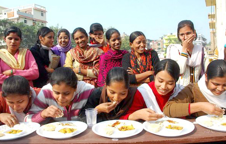 Indian Curd eating Contest Keeps Traditions Alive picture