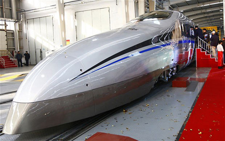 China's New Bullet Train Can Withstand Extreme Cold   picture