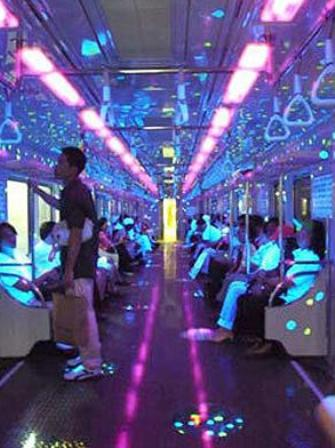 Seoul Subway Trains Get a Colorful Makeover picture