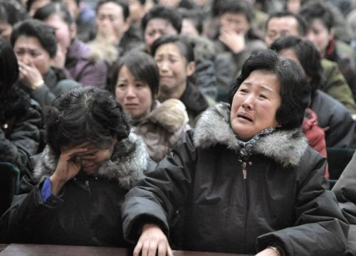 North Koreans Punished for Not Mourning Enough picture