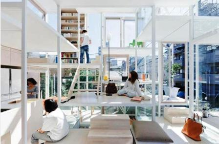 Architect Builds Voyeurs Dream in Tokyo picture