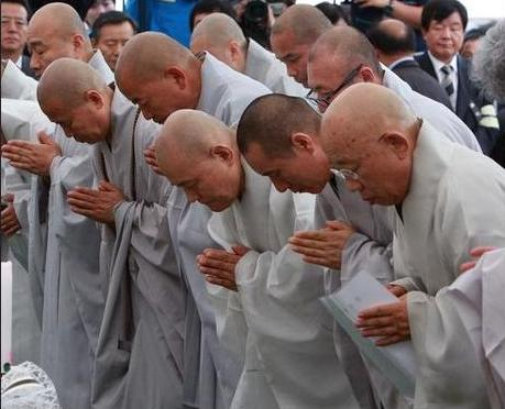 Caught on Film: Monks Gambling, Smoking, Drinking in South Korea  picture