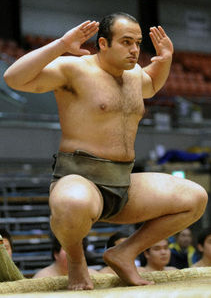 Meet Japans First African Sumo Wrestler picture