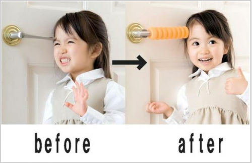 Keep Your Kids Safe with the Waffle Handle!  picture