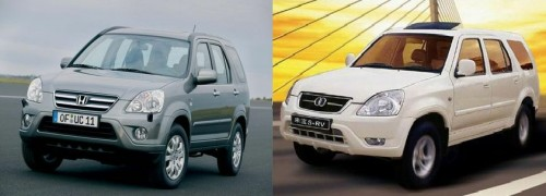 crv 500x180 Chinas Automobile Imitations Set to Cruise Control picture