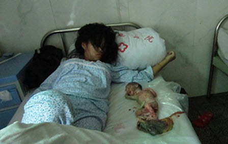Chinese Woman Forcibly Aborted for Failure to Pay Fine (Graphic) picture
