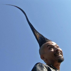 Tallest Mohawk in the World!