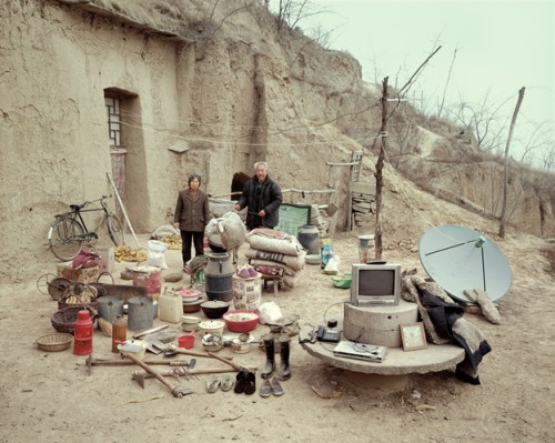 Man Spends a Decade Photographing Rural Chinese Families and Their Possessions