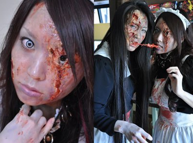 Tokyos Super Cool Zombie Café for Halloween picture