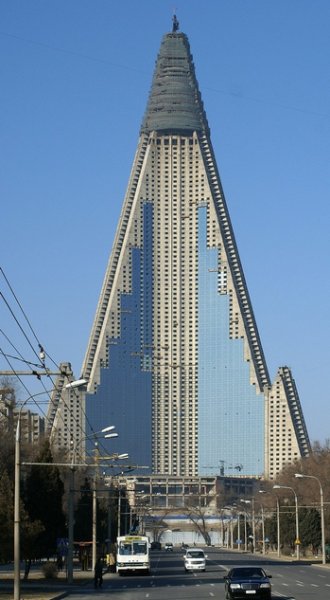 North Korea's Ryugyong Hotel to Finally Open? picture