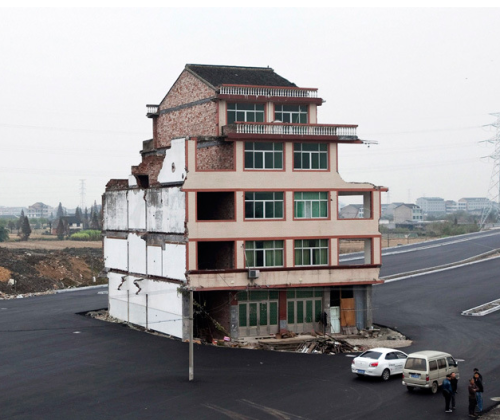China's Nail Houses picture
