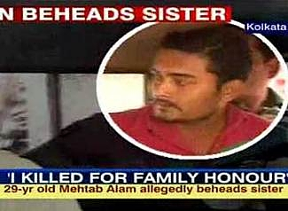Mehtab Alam Man Beheading His Sister Caught on Video picture