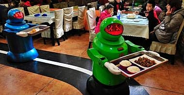Restaurant in Harbin Harbors Robots picture