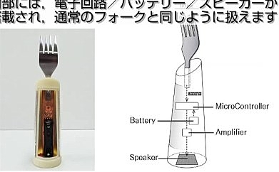 Cute Curio Kicks in a Really Weird 2013: The Japanese Talking Fork! picture