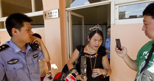 Chinese Princess Hides in Restroom to Avoid Traffic Ticket  picture