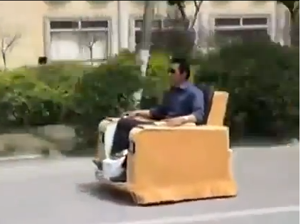 Chinese Lazboy Car
