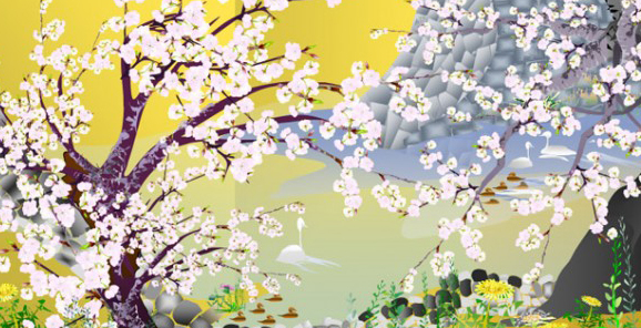 Elderly Japanese Artist Creates Amazing Works Using Only MS Excel