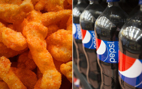Pepsi Flavored Cheetos Hit Japan's Supermarket Shelves picture