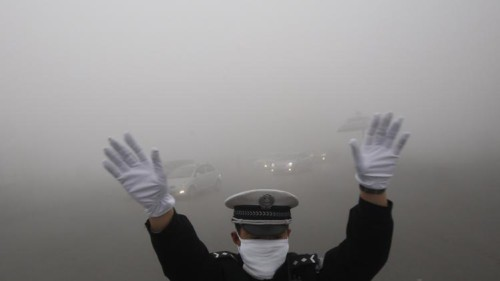 Chinese State Media Claims Smog Has Its Benefits picture