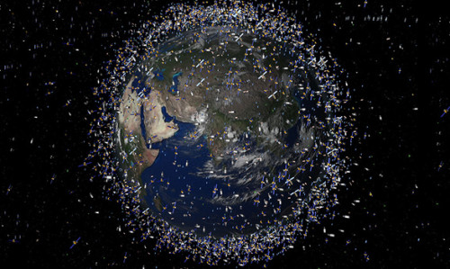 Japan to Launch a Space Net to Capture Space Junk picture