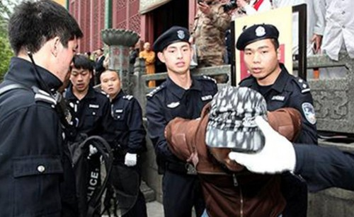 Buddhist Temple in China Forms Anti Terrorist Squad picture