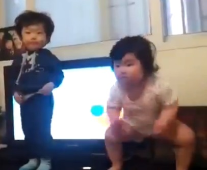 Toddlers Dance May Be the Next Gangnam Style picture