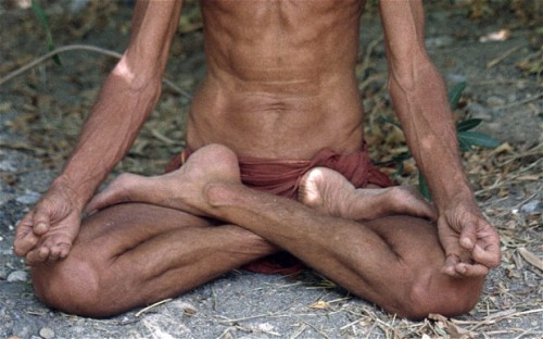 Controversy over Whether Hindu Spiritual Leader Meditating or Dead picture