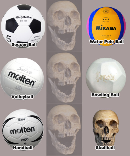 Japanese Students Confuse Human Skull for Soccer Ball picture