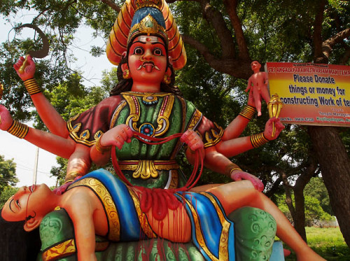 Weird Religous Statue from Southern India picture