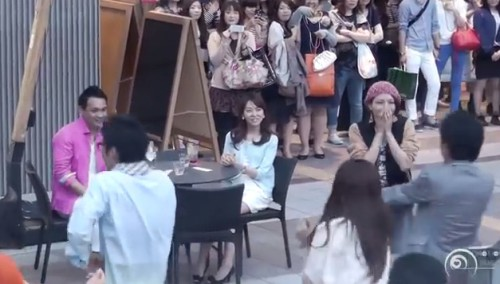 Japan Flash Mob Proposal Goes Viral picture