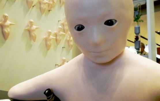 Elfoid – Creepy Humanoid Phone from Japan