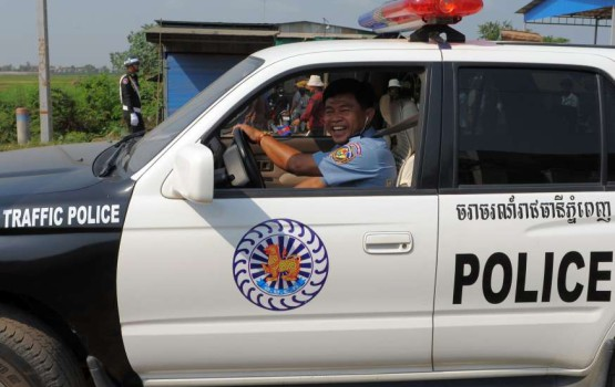 Cambodian Police Decide Life is Fine