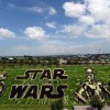 Star Wars Rice Paddy Mural