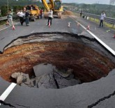 Sinkhole in China