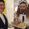 LadyBeard as the scariest French Maid you've ever seen