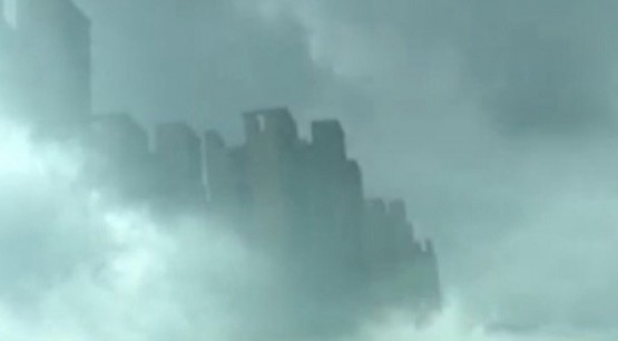 Hundreds See Alien Cloud City Appear Over China